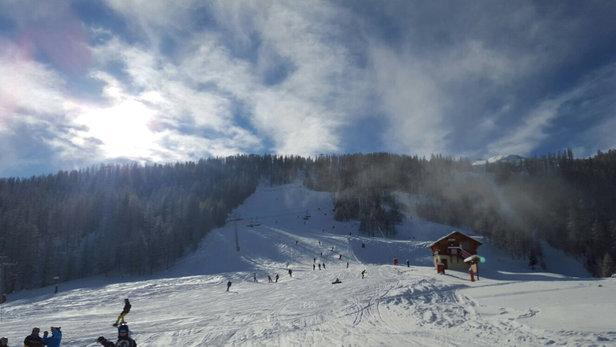 Serre Chevalier - Lovely fresh snow - ©Lez's iPhone