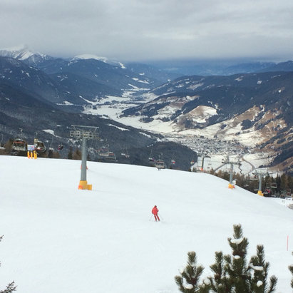 Alta Pusteria / Hochpustertal - Artificial snow, but excellent conditions! - ©iPhone de Marcelo Pereir