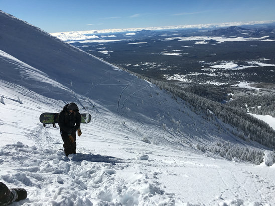 Arizona Snowbowl - Upper bowl was opened, fantastic opportunity to escape from the bearizona that is currently polluting the standard runs - ©Gromski