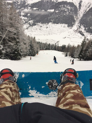 Val Cenis Vanoise - Firsthand Ski Report - ©iPhone de Jerome
