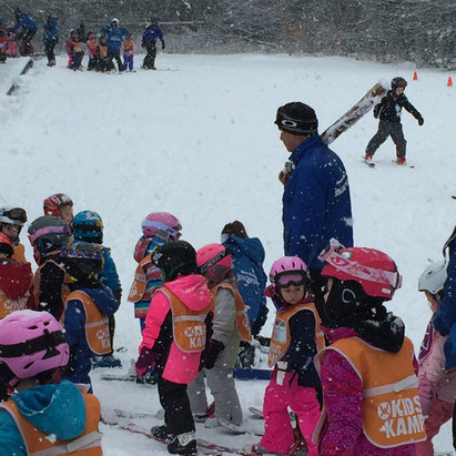 Waterville Valley - Great day today at WV, the kiddies enjoyed the pow too!! - ©RJC