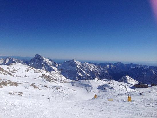 Alagna Valsesia - Monterosa Ski - Alagna 16/1/2016 Scendendo dal salati - ©iPhone