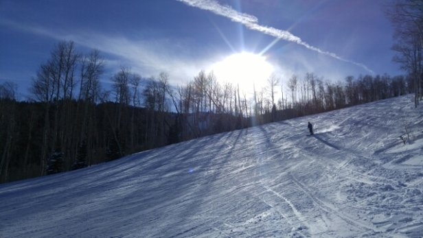 Park City - loved my 1st day on the snow this season - ©Lisa wesaidgotravel.com