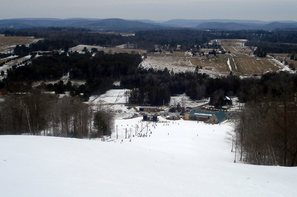 Scenic Ski Sawmill, PA.