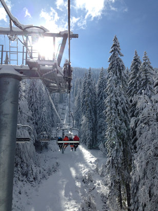 Pamporovo - Перфектни условия за ски! Perfect ski conditions! - ©Nikolay's iPhone