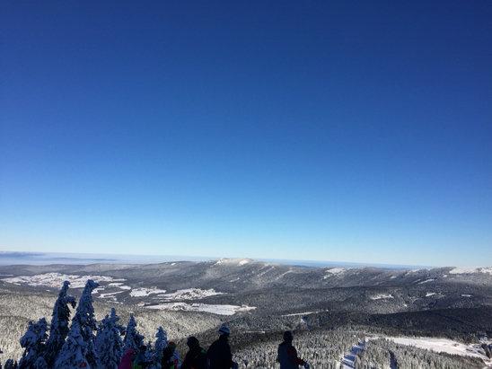 Großer Arber - Sunny day. Good snow. High temp of -8C  - ©Howard's iPhone