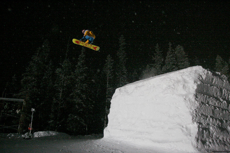 Greg Bretz at Copper, CO US Snowboarding Grand Prix .