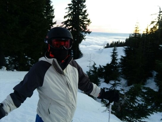 Grouse Mountain - too icy - ©powhound