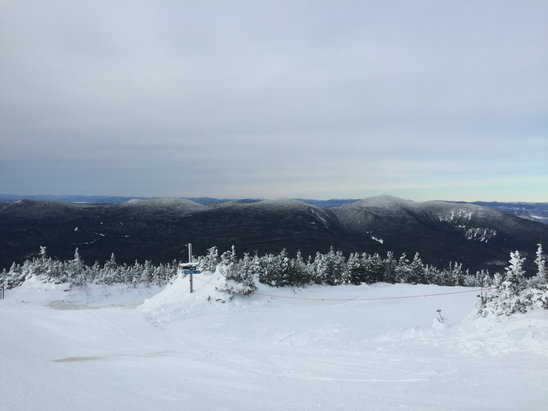 Sugarloaf - Fantastic view from the top of timberline. Snow was great this past weekend.  - ©Dean's IPhone