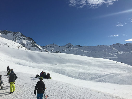 Saint Martin de Belleville - Firsthand Ski Report - ©Dave's iPhone
