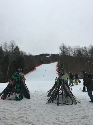 Mount Sunapee - Lots of snow, kind of crowded. A little icy but still fun   - ©James C