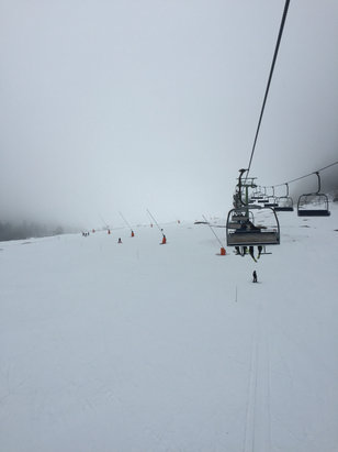 Le Mont Dore - Firsthand Ski Report - ©Allisons iphone