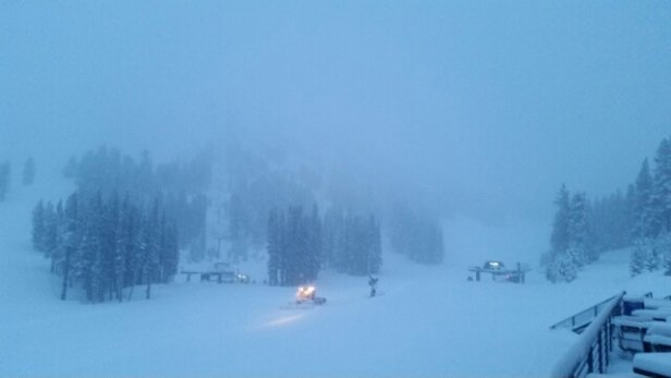 Mt. Rose - Ski Tahoe - 6:45am fresh premium dry powder.6