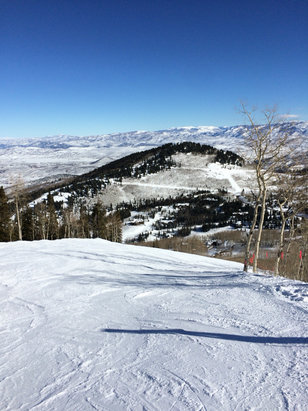 Park City - Great Snow. No lift lines. Tremendous Weekend.  - ©Rob's iPhone