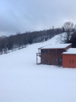 Ski Brule - Beautiful day at Brule, hitting up the terrain park today!  - ©Ski Brule