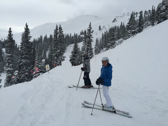Copper Mountain Resort - Powder  8 inches of new snow ! More coming! - ©Greg's iPhone