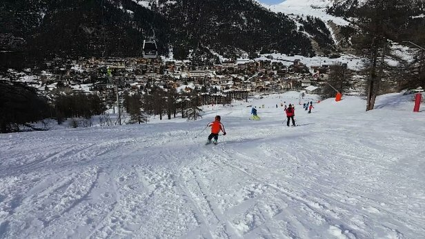 Montgenèvre - Amazing skiing yesterday.  Just started to snow again now :) - ©kiwifraser1