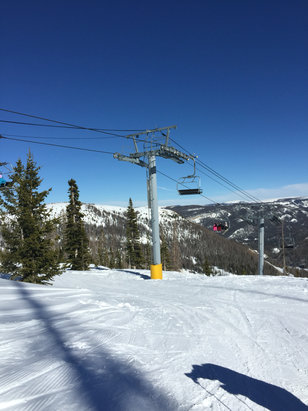 Wolf Creek Ski Area - It's a beautiful day!!! - ©Joy's iPhone
