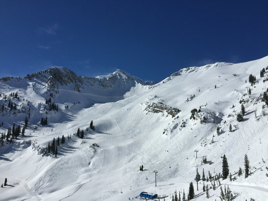 Snowbird - I'll be back soon best skiing and riding in the USA! - ©Dan iPhone