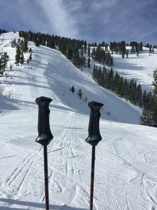 Solitude Mountain Resort - Great day plenty of pow pow in the trees - ©Rob Skudder iphone