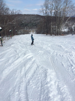 Catamount - Great pow today - ©iPhone (5)