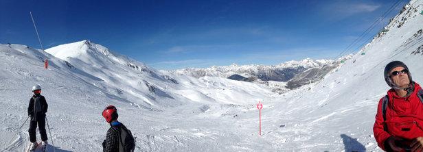 Boí Taüll - Bonne neige. Bonne station. Pas d'attente aux remontés. Personnelle très sympa. - ©iPod 5  32go gris argent