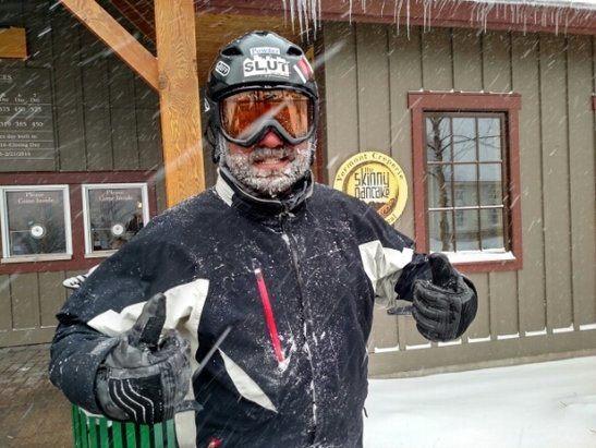 Sugarbush - this guy clearly loved it!  - ©skifast.pb