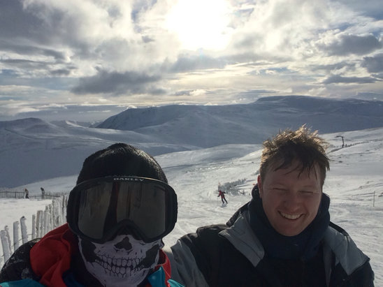Glenshee - Firsthand Ski Report - ©Barry's Iphone