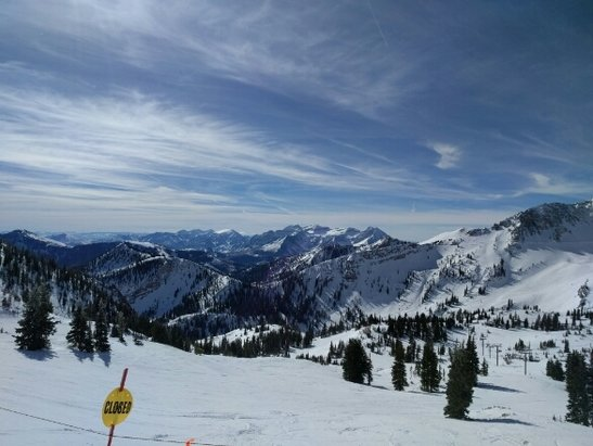 Snowbird - Solid day yesterday. Sunny skies with 7-10 inches of fresh snow from Sundays storm.  - ©hartrorick