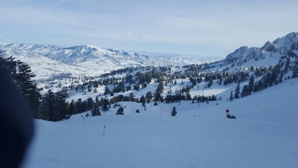 Snowbasin - I went  yesterday and it was great. Not crowded.  The runs were so much fun. Wish I could go again today.  - ©derekauto