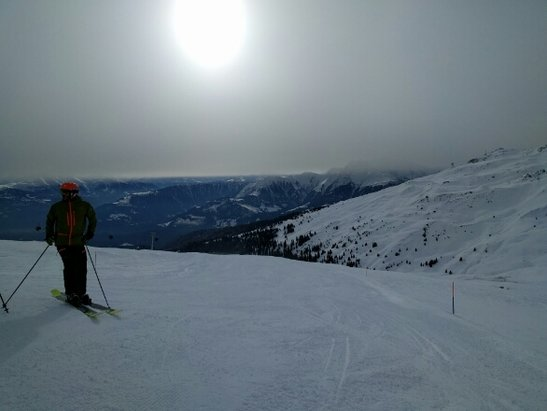 Laax - Firsthand Ski Report - ©anonymous user