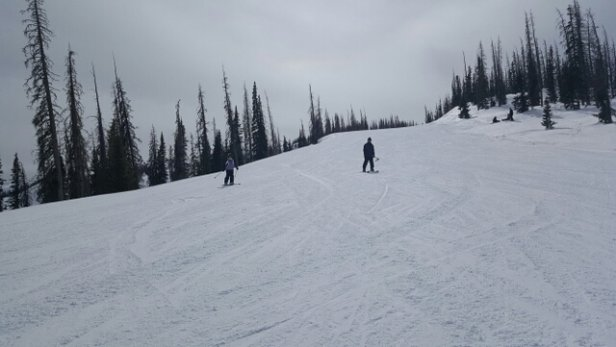 Wolf Creek Ski Area - Pretty nice weekend of skiing, but could use 4 to 7 inches of fresh snow.  - ©aeagerrard