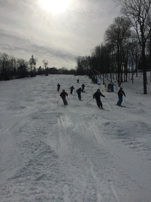 Blue Mountain Resort - Mogal mania today at blue! Great spring conditions ! Thanks to all staff  - ©iPhone