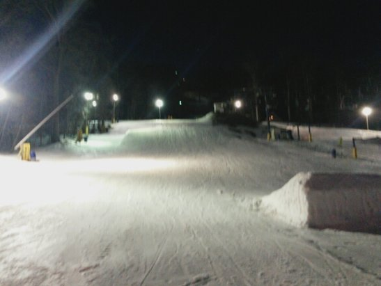 Liberty - mashed potatoes but excellent park with lots of features - ©des