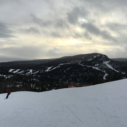 Lutsen Mountains - Firsthand Ski Report - ©iPhone