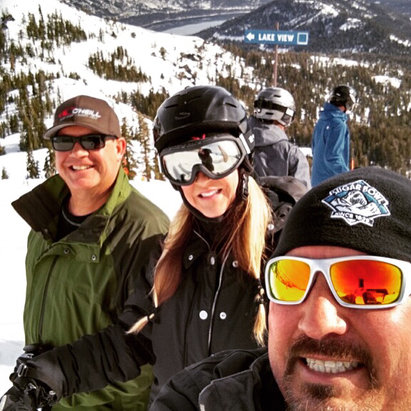 Sugar Bowl Resort - Owning it⛷#sugarbowl2016 - ©Donner Party