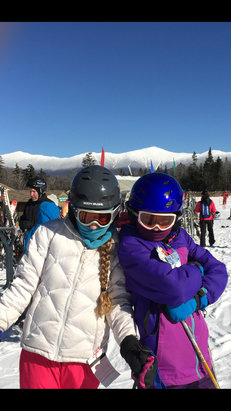 Bretton Woods - Gorgeous bluebird day on the mountain. Conditions not bad.  - ©jiggy