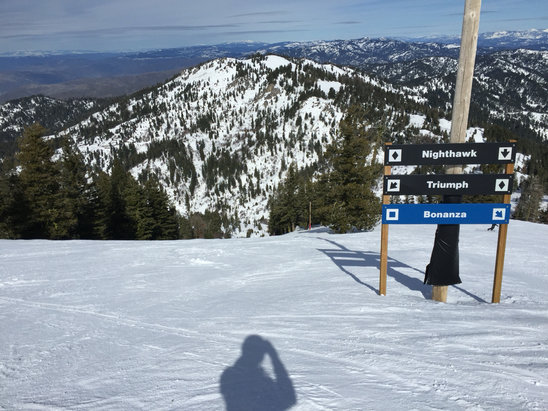 Bogus Basin - Conditions Sat & Sun were amazing on the backside with the 2