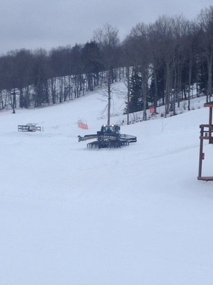Ski Brule - Looks like the acrobag is going to be set up for this weekend! - ©Ski Brule