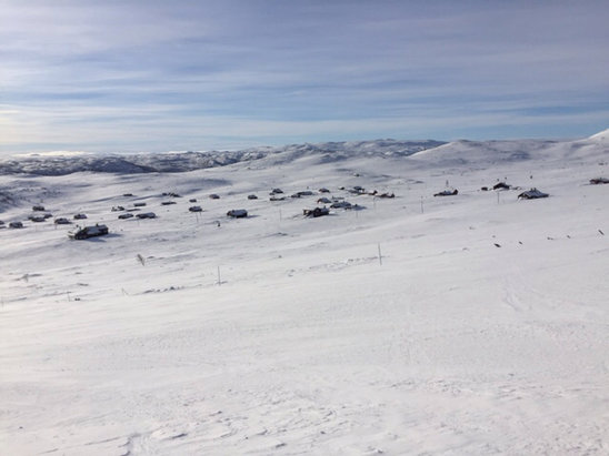 Geilo - View from above Havsdalen this morning  - ©Stuart's iPhone