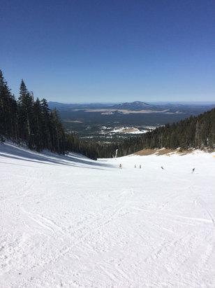 Arizona Snowbowl - Great day at snowbowl!  Nice and warm. No lines at any lifts  - ©Antony's iPhone