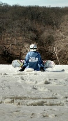 Ski Snowstar Winter Sports Park - slushy but fun!!! - ©kids94us