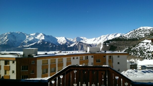 Alpe d'Huez - Sun is out today! - ©williams1608.dw