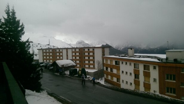 Alpe d'Huez - Snow has arrived but very wet and nothing has settled so far. - ©williams1608.dw
