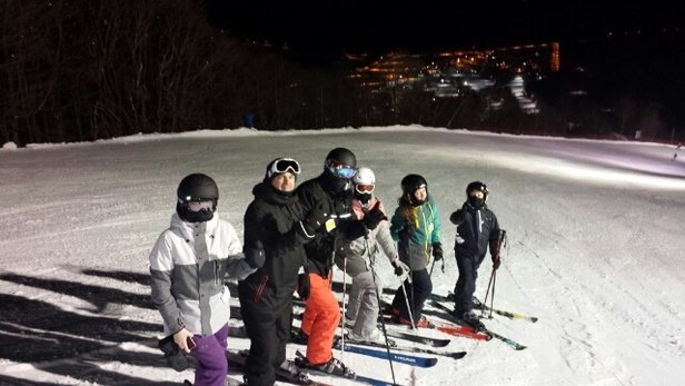 Mont Sainte Anne - ski de soir irréprochable - ©8876690