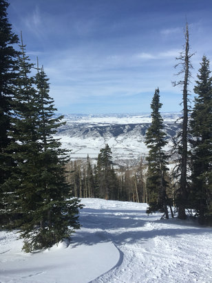 Steamboat - Glades were great today!               - ©Matt Aragona's iPhone