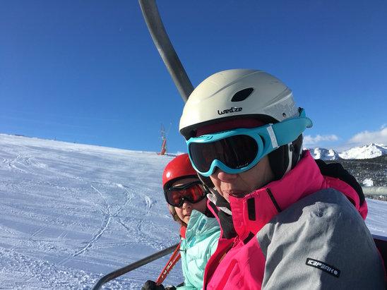 Baqueira - Beret - Magnifique journée neige fraîche. Beaucoup de vent l'après midi.  - ©un skieur anonyme