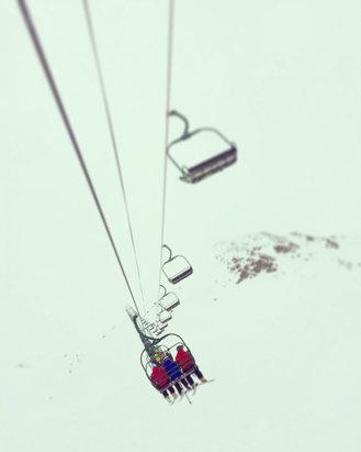 Lake Louise - Snowing regularly. Awesome stashes on the back side. Way better then Sunshine Village  - ©thegramlist