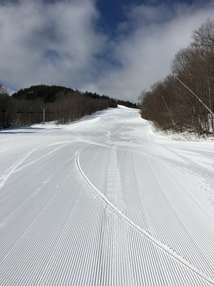 Sunday River - Perfect conditions Monday and Tuesday. - ©Gary's iPhone