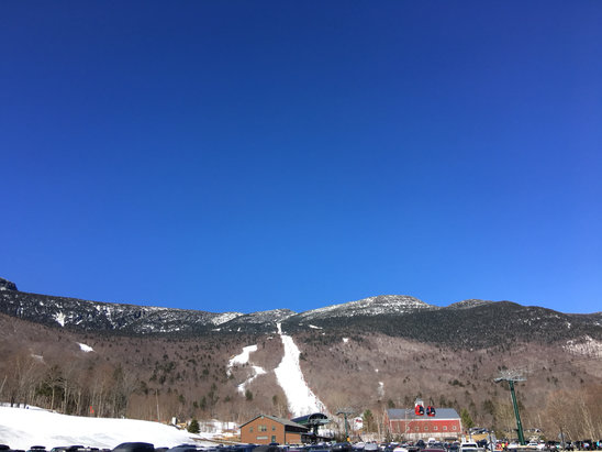 Stowe Mountain Resort - Well it's hard pack, ice and corn snow Plan accordingly  - ©Robert's iPhone